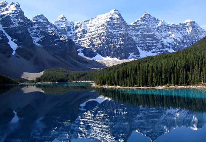 Banff National Park and Lake Louise, Alberta